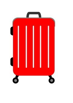 Suitcase (red)