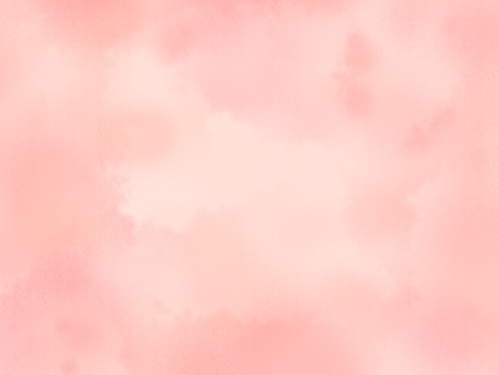 Watercolor wind background peach color