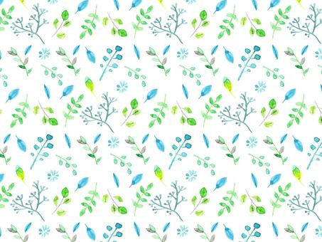 Botanical background illustration material