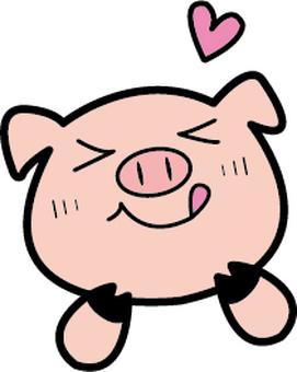 くいしんぼ 돼지