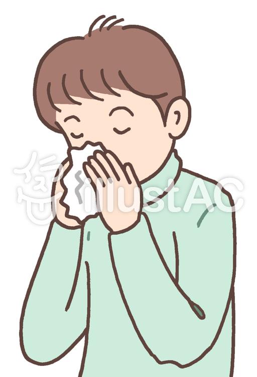 鼻炎.2のイラスト
