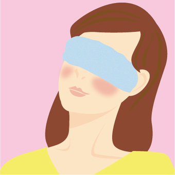 Female Eye Source Steam Towel Care