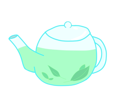 Teapot herbal tea
