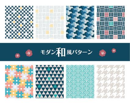 Modern Japanese style pattern