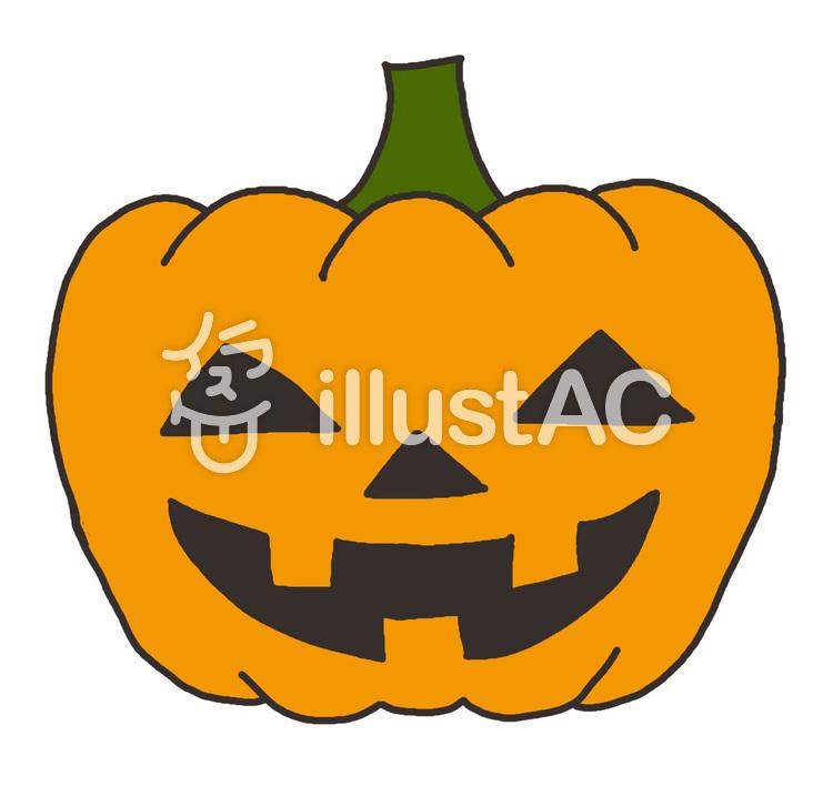 ハロウィンかぼちゃイラスト No 85209無料イラストならイラストac