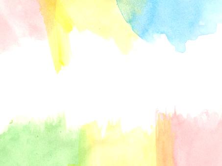 Rainbow-colored road