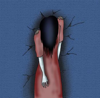 Horror illustration. 1