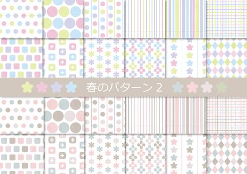 Spring pattern 2