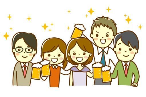 Company banquet