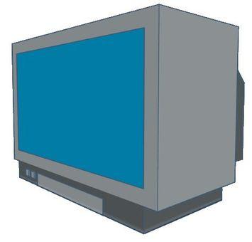 Wide tv