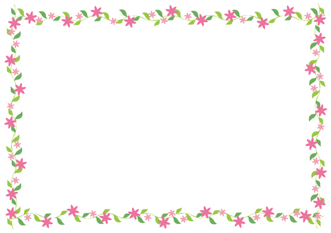 식물의 프레임 -4 (대)