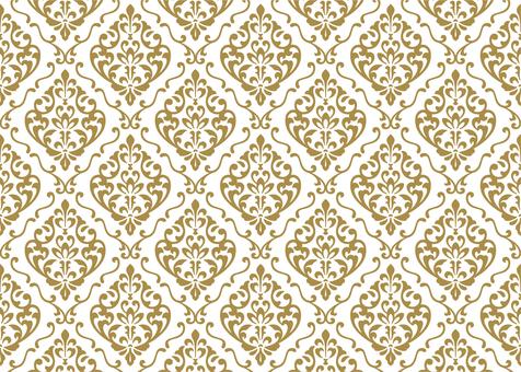 Pattern 114 Damask pattern (5)