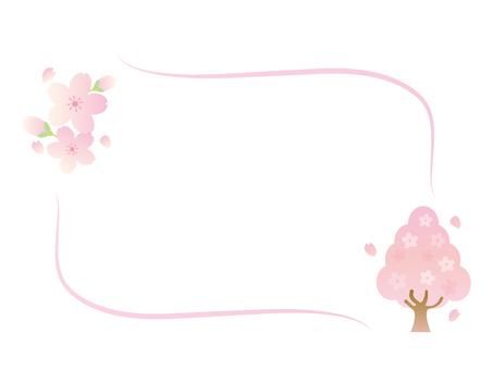 桜のフレーム7