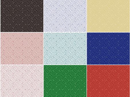 ai Japanese pattern Pattern Saaya background 9 sets