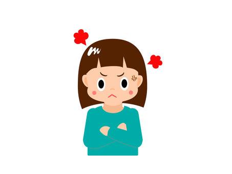 Pungpung angry girl