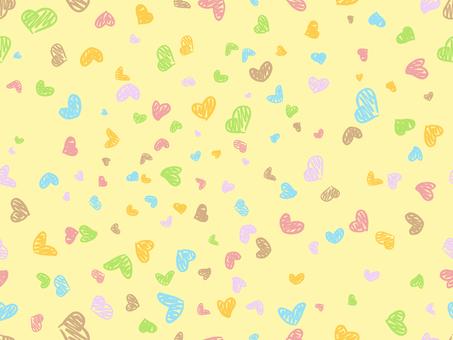 Pattern - Handwritten Heart S
