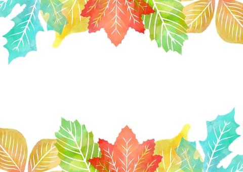 Fallen leaf background