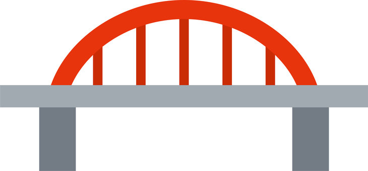 Bridge map icon