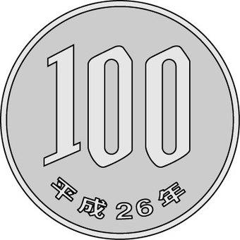 100日元
