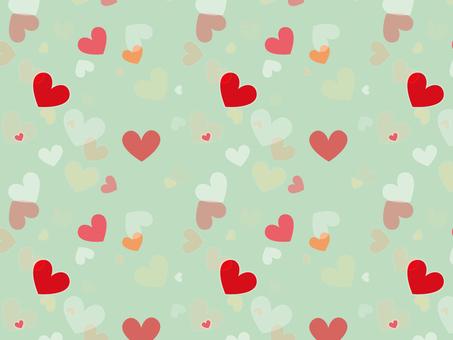 Heart pattern 4