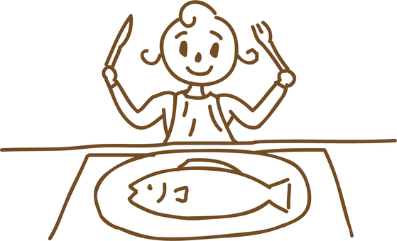 Eat fish dishes