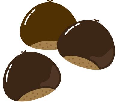Sweet chestnut · baked chestnut