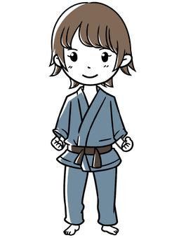 Sports judo
