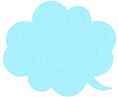 Bubble Japanese paper Bamboo light blue