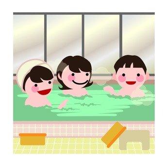 Ladies' public bath