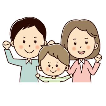 膽量與父母和孩子構成