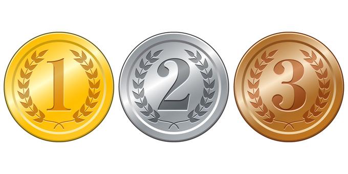 금 ·은 · 동메달 1