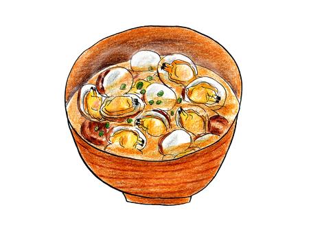 Clams miso soup