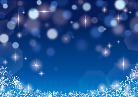 Christmas sparkly background Blue