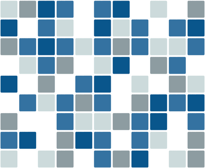 Tile background material / blue