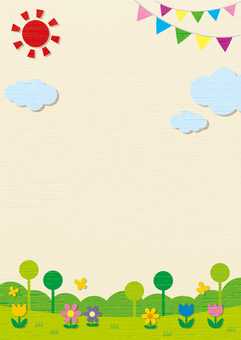 Fairy tale background frame 1