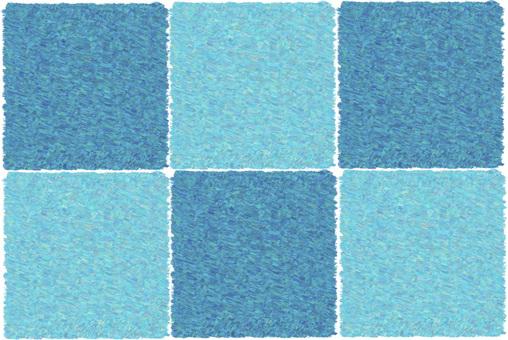 자연 패턴 (파랑)