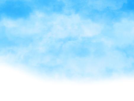Hand-drawn sky [1] Spring sky