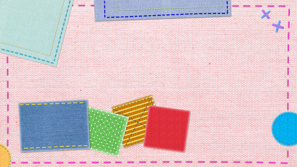 Patchwork quilt wallpaper