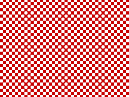Checkered pattern-red and white- wallpaper material