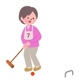Granbell who plays gateball