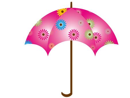 Floral umbrella 7