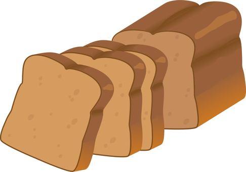 Low sugar brown bread