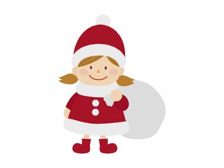 Santa's girl