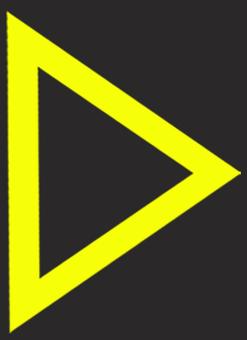 矢印 カーソル 黒背景黄色04