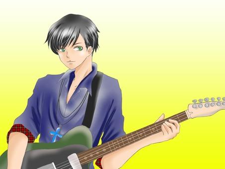 男のミュージシャン2