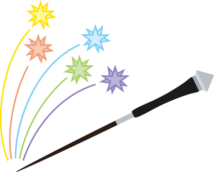 Simple magic wand