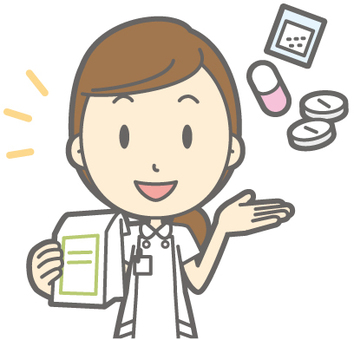 Female nurse - medicine - bust