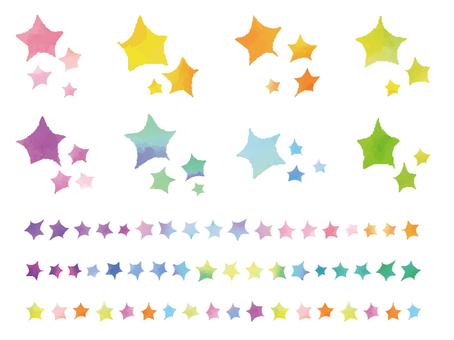 수채화의 별들 세트