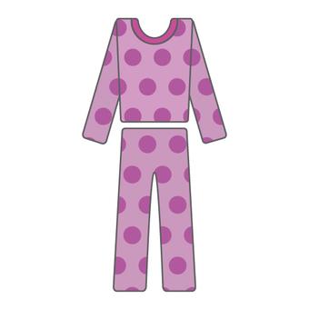 Pajamas (polka dots)