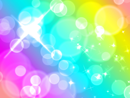 Glittering rainbow wallpaper